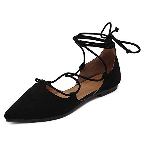 Fereshte - Sandales Compensées Pour Femmes Black