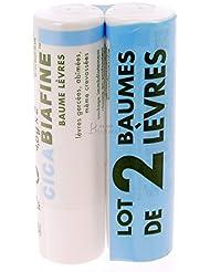 CicaBiafine Baume Lèvres Lot de 2 x 4.8 g