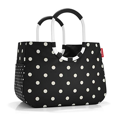 reisenthel loopshopper L mixed dots Maße: 46 x 34,5 x 25 cm / Volumen: 25 l