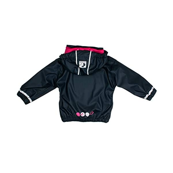 Salt & Pepper Jacket RB B Girls Uni Chaqueta Impermeable para Bebés 2