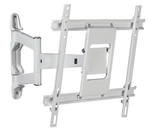 Titan MA4750W neig- und schwenkbare TV-Wandhalterung (81 cm (32 Zoll) bis 119 cm (47 Zoll), max. 50kg, max. VESA 400x400) weiß