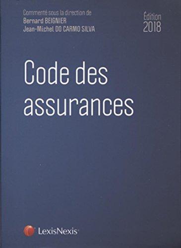 Code des assurances 2018 par Bernard Beignier