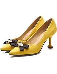 69eb12f87c MEMIND Zapatos de Gato Tacones Altos Zapato de Abeja Calzado de Gran tamaño  para Mujer 40