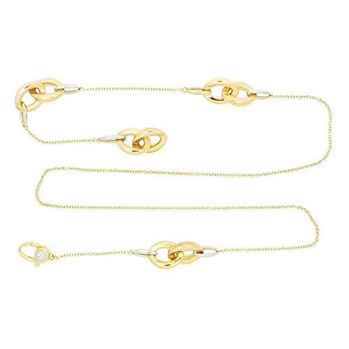 Collana Chimento LOGO 1G01422ZB3550 Oro Diamante