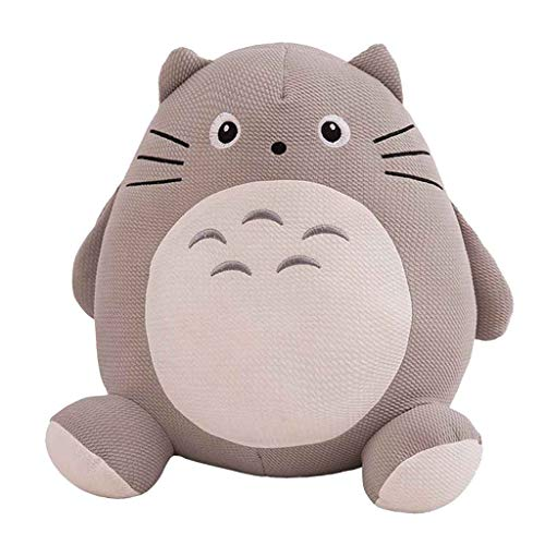 Totoro Plüschtier Tier Puppe Dekokissen Dekorative Chinchilla Große Kissen Winter Warme Hände Zu Senden Paar Freund Kinder Geburtstag (Kissen Dekorative Winter)