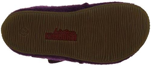 Living Kitzbühel Babyklett Hund Mit Brille Und Pfote, Chaussures Marche Bébé Fille Violet - Violett (petunie 369)