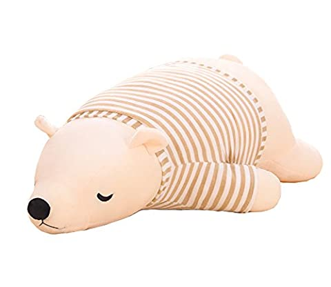 Bonways Baby Super Soft Cute Plush Stuffed Polar Bear Doll Toys Sleeping Pillow Children Kids Lovers Doll Gifts