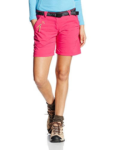 Trango Swift Shorts Femme Rosa/Marrón Asfalto