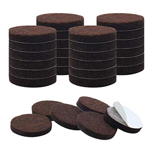 ZCHXD 30pcs Furniture Pads Round 1 1/2