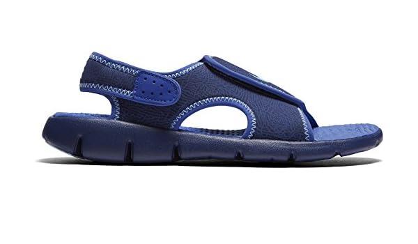 sale retailer 1d4f7 fe9d4 Nike Sunray Adjust 4 Big Kids Little Kids Shoes Binary Blue Still Blue  386518-413 (7 M US)  Amazon.co.uk  Shoes   Bags