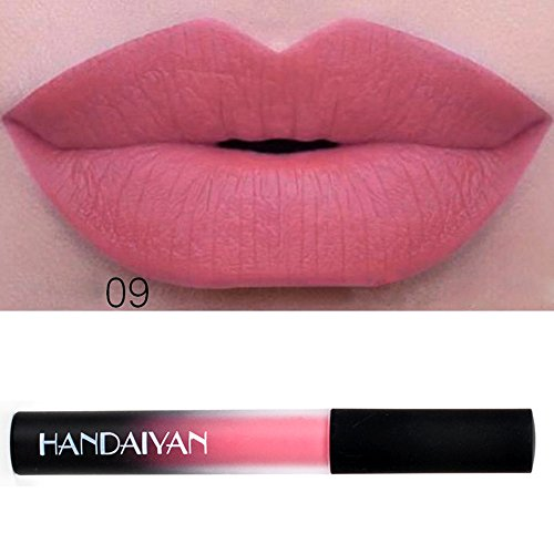 Matte Velvet Lip Gloss Wasserdicht Lippenstift Flüssiger Long-Lasting Make-up Lippenstift (I)