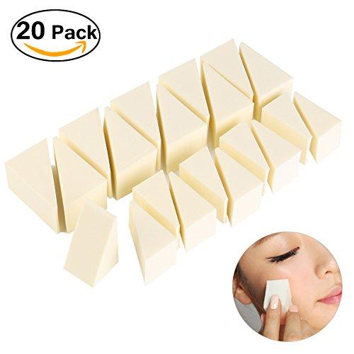 pixnor-makeup-wedges-foundation-sponge-nail-art-sponges-non-latex-20-pack