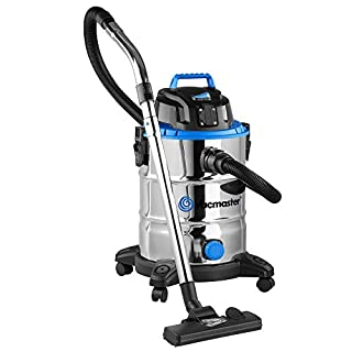 Vacmaster Wet & Dry Vacuum Cleaner | Powerful 1500W Vac 30L with PTO & Blower
