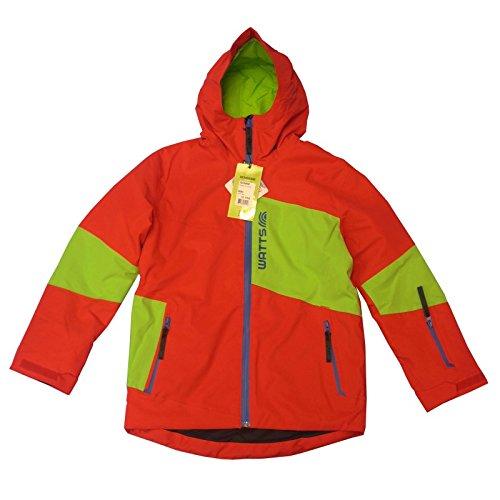 Watts Junior Gonne 8060 Skijacke rot (grünes Joch)