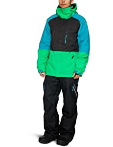 O'Neill Men's District Snow Jacket Fw   -  Simply Green, X-Large