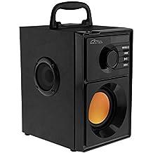 Media-Tech Boombox Stereo BT 15 W Black Rectangle – Portable Speakers