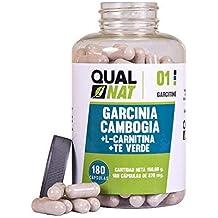 Garcinia Cambogia con L-Carnitina ✓ HCA ✓ Té Verde ✓ Quemagrasas