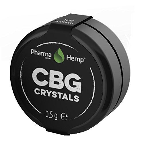 Pharmahemp CBG (Cannabigerol) Crystal Isolate – 97% – 500mg