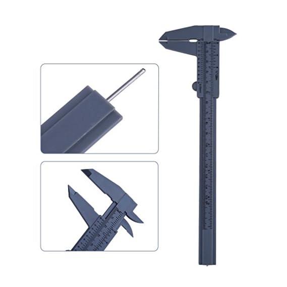 Lepakshi 6Quot 150Mm Plastic Ruler Sliding Gauge Vernier Caliper Jewelry Measu