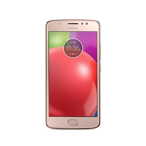 Motorola Moto E4 UK (Single SIM) sim-free smartphone Bundle, PA740000GB