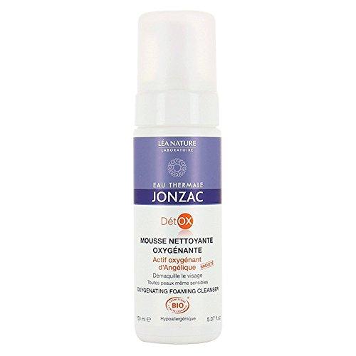 EAU THERMALE JONZAC - Mousse nettoyante oxygenante - Demaquille en douceur - Actif oxygénant d'Angélique breveté - Toutes peaux, même sensibles - Hypoallergénique - Non comédogène - 150 ml