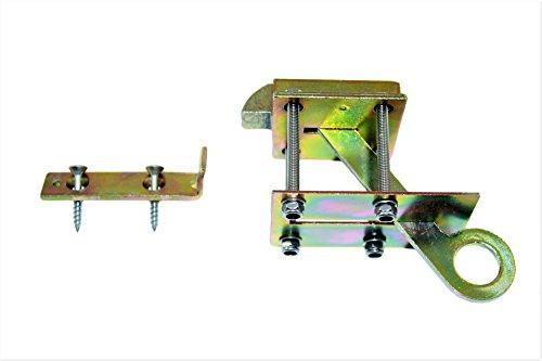 Bodenlukenschnäpper verzinkt für Bodenluken von 20-40mm inclusive Befestigungsmaterial