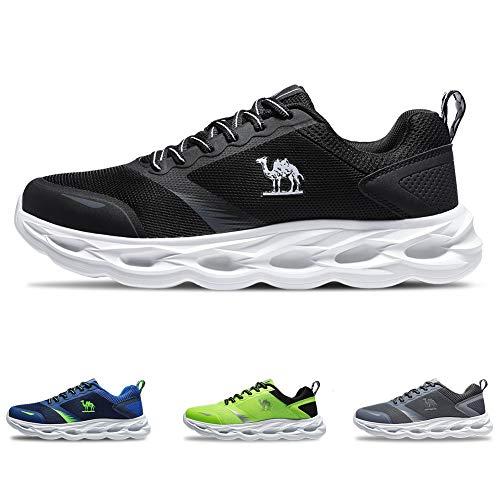 CAMEL CROWN Scarpe da Corsa Uomo Sports Sneaker Athletic Trainer Moda Leggera Fitness Trail Camminata Casual per Palestra Jogging Training