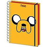 Adventure Time Carnet Bloc-Notes - Temps De L'Aventure, Jake (21 x 15 cm)