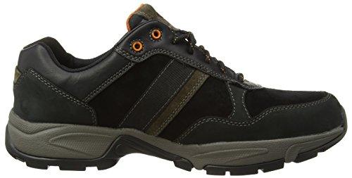 Camel Active - Evolution 27, Sneakers da uomo Nero (Black - Schwarz (black/dk.grey))