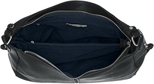 PIECES - Pcjustine Bag, Borse a spalla Donna Nero (Black)