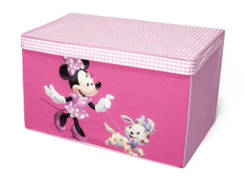 Disney Minnie Mouse Collapsible Fabric Toy Box