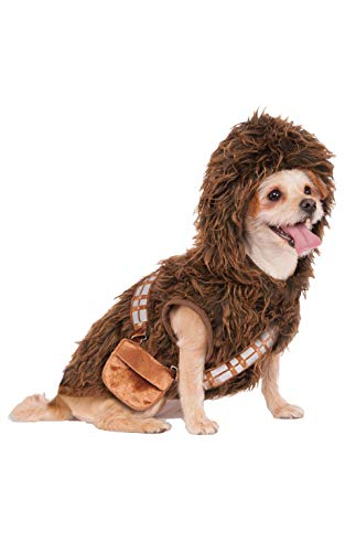 Pet Kostüm Star Wars - Rubies Costume Star Wars Chewbacca Hoodie Pet Kostüm, Klein