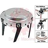 Doctor Machine Disco Fresa A Zappetta Universale 2 in 1 per Terreno - Taglia Erba - Professionale per Decespugliatore con 6 Lame E 3 Fili