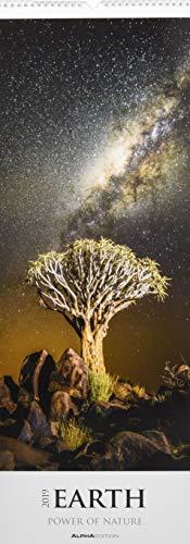 Earth  - Power of Nature 2019 - Streifenkalender XXL (25 x 70) - Landschaftskalender - Naturkalender