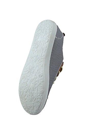 Sneakers 35 Lazer Têxteis Azul Verão ue Infantis Camo 29128 30 Unissex wnCqttza