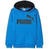 Puma ESS Logo Hoody FL B Sweatshirt, Niños, Strong Blue, 152