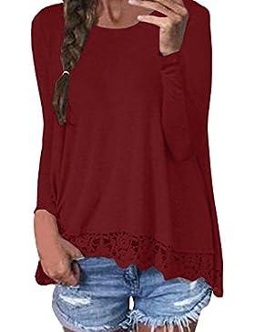 ZANZEA - Camisas - Manga Larga - para mujer