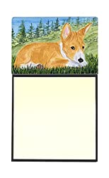Carolines Treasures SS8016SN Basenji Refillable Sticky Note Holder or Postit Note Dispenser, 3.25 by 5.5, Multicolor