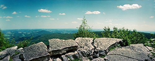 Blue Mountain Pennsylvania (Panoramic Images - View from The Pinnacle of The Appalachian Trail Blue Mountain Appalachian Mountains Pennsylvania USA Kunstdruck (30,48 x 76,20 cm))
