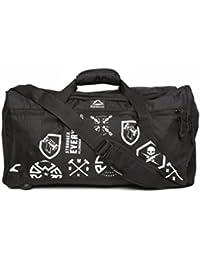 63e77c8cd401 Reebok Synthetic 23 cms Black Duffle Bags (CG0794)