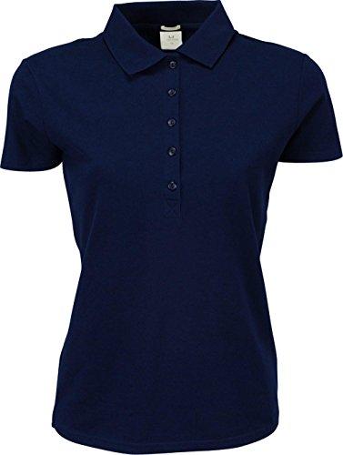 Ladies Luxury stretch Polo Bleu - Azur