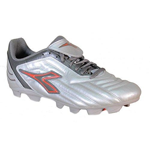 Diadora - Diadora Chaussures de football homme A16-premio-MD-RTX Gris - argent