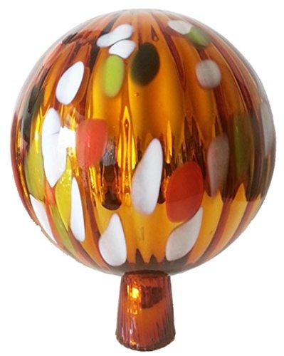 gartenkugel-farbige-rosenkugel-gold-orange-bunt-verspiegelt-dekorative-kristallglas-gartenkugel-wett