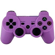 AMGGLOBAL®Purple Portable Wireless Rechargable Bluetooth Gamepad Remote Joystick Controller Gamepad For Playstation 3 PS3