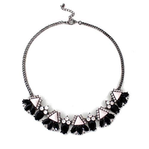 Wenbuhuo Jeweled Halskette Kragen High-End Joker Halskette Zubehör Anhänger,B