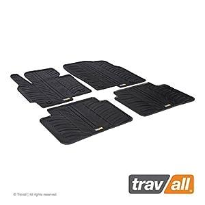 Travall Mats Gummifußmatten TRM1107 - Allwettermatten nach Maß Fussmatten Set