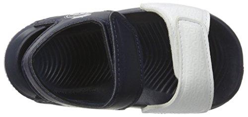 adidas Altaswim Real I, Sandali a Punta Aperta Unisex – Bimbi 0-24 Blu (Raw Purple/ftwr White/collegiate Navy)