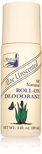 Alvera Aloe (Alvera Natürlicher Geruchsloser Deodorant Roll-on auf Aloe Basis 90 ml)