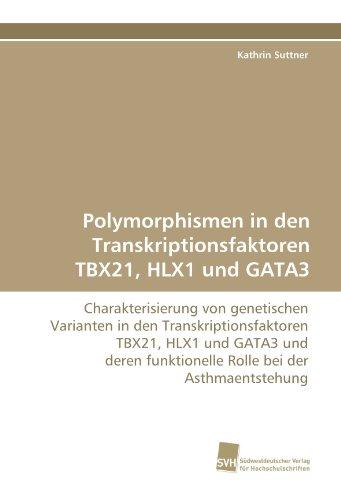 Polymorphismen in den Transkriptionsfaktoren TBX21, HLX1 und GATA3: Charakterisierung von genetischen Varianten in den Transkriptionsfaktoren TBX21, ... funktionelle Rolle bei der Asthmaentstehung