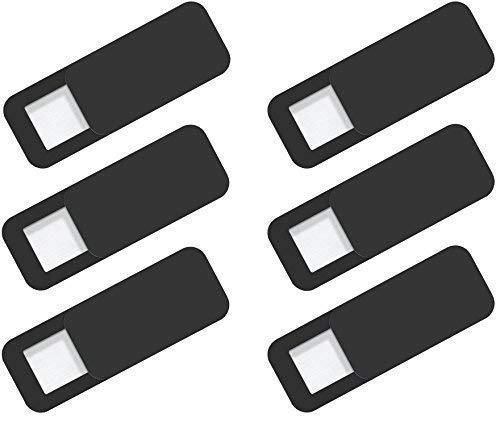 Sunglow Security Webcam Cover | 6 Stück | Set zur Abdeckung der Kamera Anti-Spy Schutz | Slim & Save